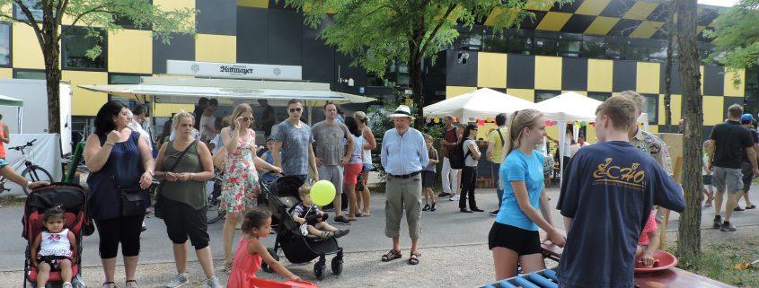 10 Promenadenfest Wir Feiern 20 Jahre Messestadt Echo Ev